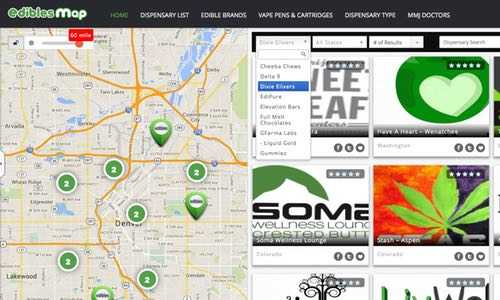 The Edibles Map